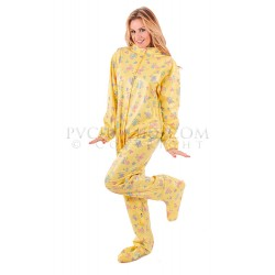PUL PVC - Schlafoverall AB Strampler AB06 FRONT OPEN BABY GROW