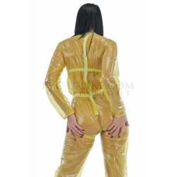 PUL PVC - Overall Strampler Jumpsuit langarm SU29 STEPHANIE BOWMAN SUIT