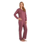 Suprima 4671 - Pflegeoverall BW/Polyester, lang, Bein-RV S-XL