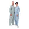 Suprima 4688 - Pflegeoverall BW/Polyester, lang, Rücken-RV, Bein-RV