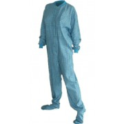 """Flanell - Schlafoverall """"TURQUOISE"""" LAGERWARE"""