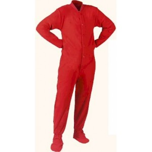 "Fleece - Schlafoverall ""RED"" LAGERWARE"