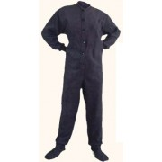 "Fleece - Schlafoverall ""NAVY BLUE"" LAGERWARE"