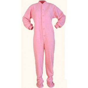 "Fleece - Schlafoverall ""PINK"" LAGERWARE"