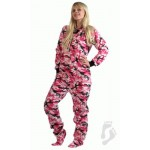 "Fleece - Schlafoverall ""CAMOFORCE PINK"" LAGERWARE"