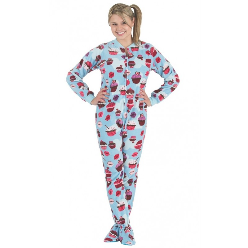 Footie Pajamas With Bum Flap