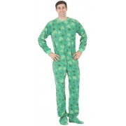 "Fleece - Schlafoverall ""SHAMROCKS"""